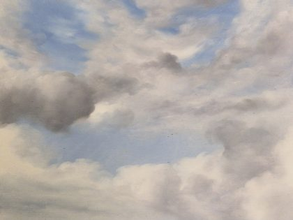 Cloud Study, Rialton, Cornwall