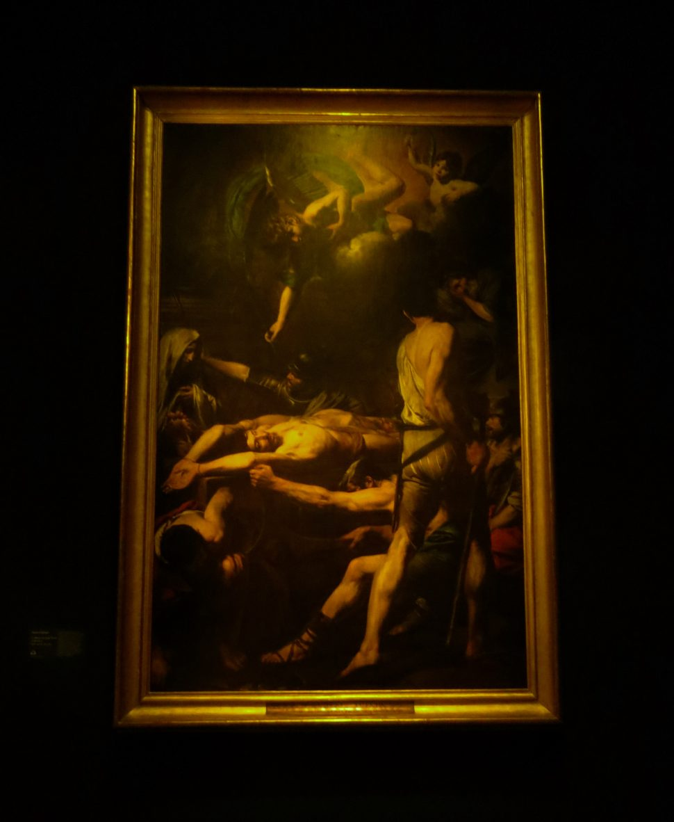 Martyrdom of Saints Processus and Martinian, oil on canvas, 302 x 192cm, 1629-30