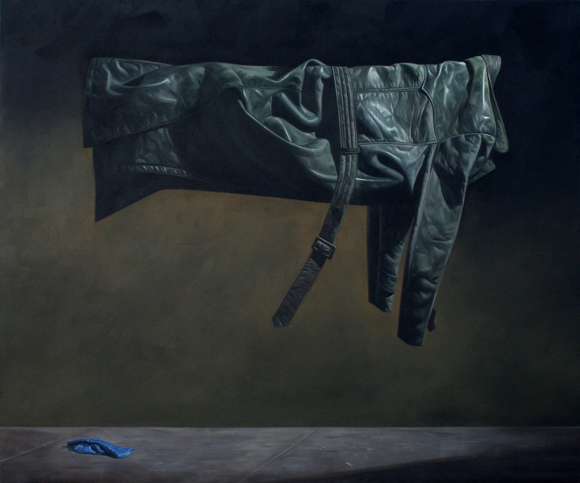 Compassion Postponed, oil on canvas, 153 x 127cm, 2008