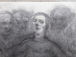 Initial Sketch for Painting